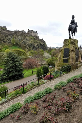 Castle Park in Edinburgh